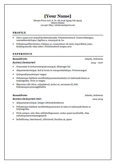 Download cv templates for free rumahporto we have personally curated these simple and concise cv templates which can help you showcase your education working experiences skills and even your yelopaper Choice Image